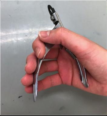 ペットの爪切りの使い方1