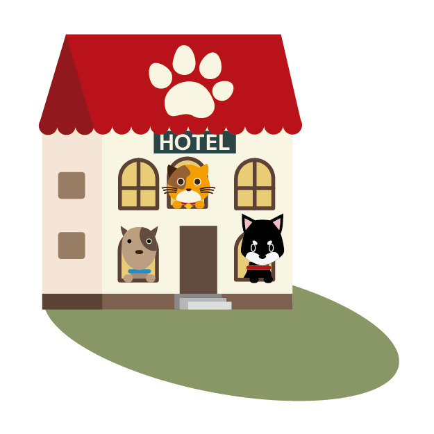ペットホテルをやっています